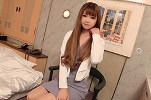 【シロウト】亜麻色の髪が美しいスレンダー美乳美容師(25)とのハメ撮りSEX動画