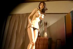 【人妻ナンパ】スタイル抜群!無料マッサージで騙した巨乳美女を隠し撮り