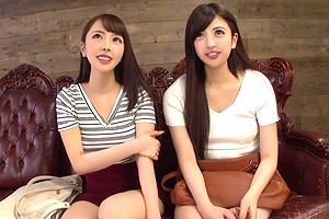 【素人ナンパ】「テレビの取材で…」女子大生に謝礼を握らせて中出し乱交!
