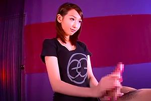 成宮カナ スタイル良くてルックスも抜群のお姉さんの手コキフェラ