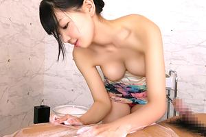 鈴木心春 これは勃起せざるを得ない…。巨乳エステ嬢の繊細なタッチで精力回復!