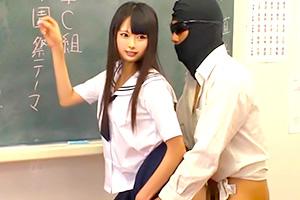 なつめ愛莉 青春だわ、JKが授業中にハメられるwww