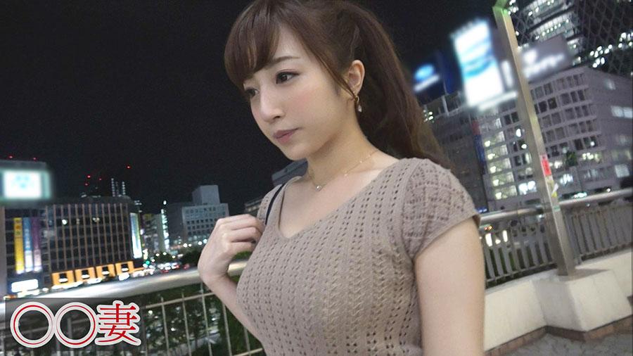 【◯◯妻】爆乳Gカップの専業主婦(26)が初のマジイキ痙攣潮吹きSEX動画