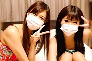 【神波多一花 川村まや】レズカップルの過激配信が流出!