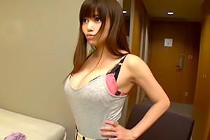 【人妻ナンパ】おっぱいダァーン!! 迫力あるGカップ巨乳の中出しセックス
