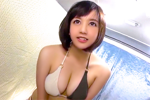 【人妻ナンパ】童顔と美巨乳のギャップがエロい若妻の危険日に中出し!