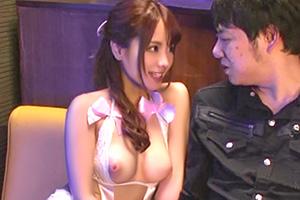 桃乃木かな おっパブ店で働くFカップの童顔風俗嬢とセックス成功!