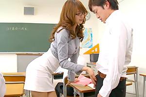 吉沢明歩 エロすぎでしょ。男子生徒を手玉にとる美人女教師