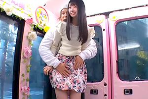【マジックミラー号】「足の指が感じます…」女子大生を悶絶性感帯攻め!