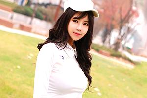 セックスも超一流。巨乳の韓流プロゴルファーをレッスンからAV撮影に持ち込む!