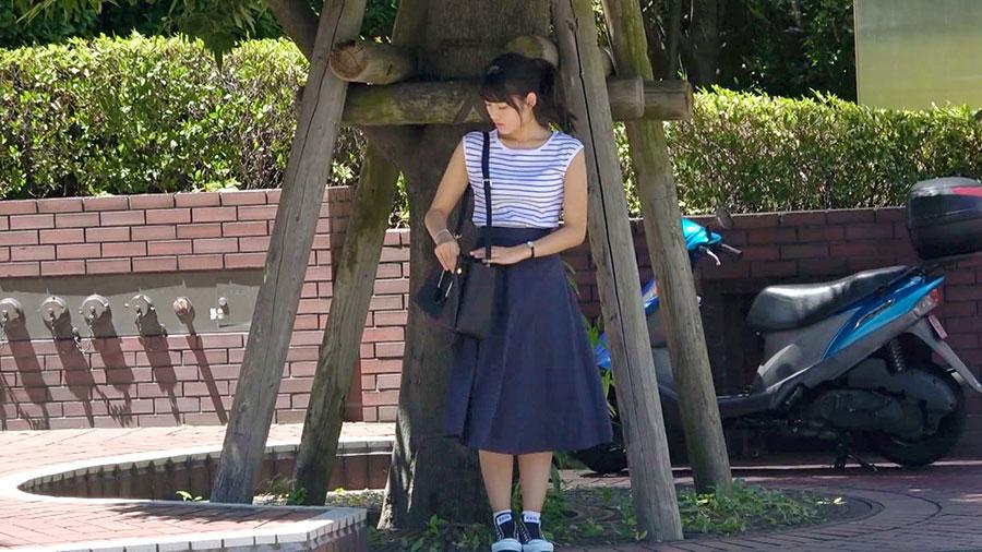 【募集ちゃん】手マンオナニーが卑猥な巨乳美女とのSEX動画