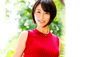 杉山なずな 銀行で働く真面目なアラサー美女がAV男優と不倫デビュー!