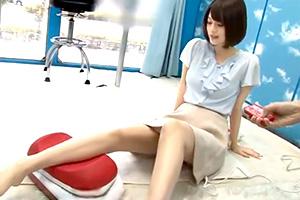 【マジックミラー号】さすが女子アナ志望JD!顔もスタイル良いね〜w