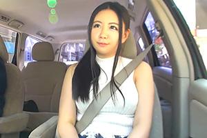 【素人】パート先で出会ったムッツリな巨乳妻を車内で犯す!