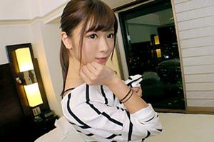【募集ちゃん】白石◯衣激似の超アイドル級にカワイイ女子大生(21)との3PSEX動画