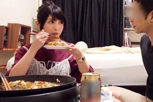 【ナンパTV】「料理を作って!」と誘ってお持ち帰りした美乳女子大生(20)とのSEX動画