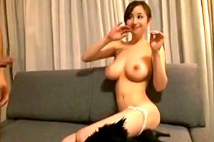 【素人】可愛くて美しい巨乳!スケベの裸体を披露してくれた美女