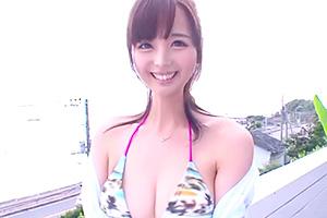 桃乃木かな とびっきりの笑顔。アイドル級美少女と野外セックス!