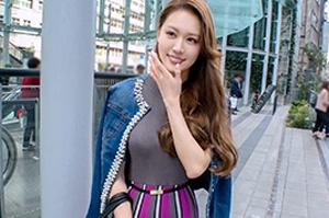 【ナンパTV】カフェで口説いた爆乳美人ダンサー(26)とのSEX動画