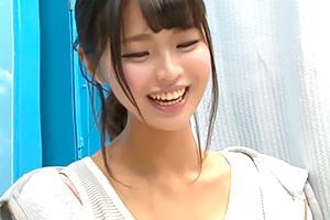 【マジックミラー号】チンコの形した飴に興奮するむっつりスケベ女子大生
