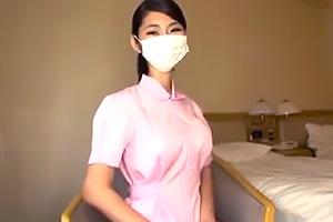 【素人】釣鐘型のIカップ巨乳が凄い。顔出しNGの現役歯科助手