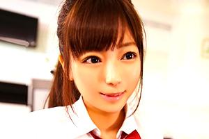 羽咲みはる アイドル級に可愛い巨乳JKがおじさん相手にカラダを売る円光セックス
