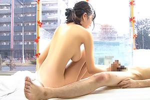 【マジックミラー号】スタイル抜群の巨乳女子大生と混浴した結果w