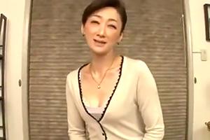 【熟女】江口容子 生徒の父親と肉体関係を持つ五十路の熟講師