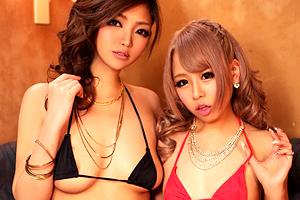 相葉レイカ 澄川ロア 超ワガママな生意気ギャルソープ嬢の3Pセックス!