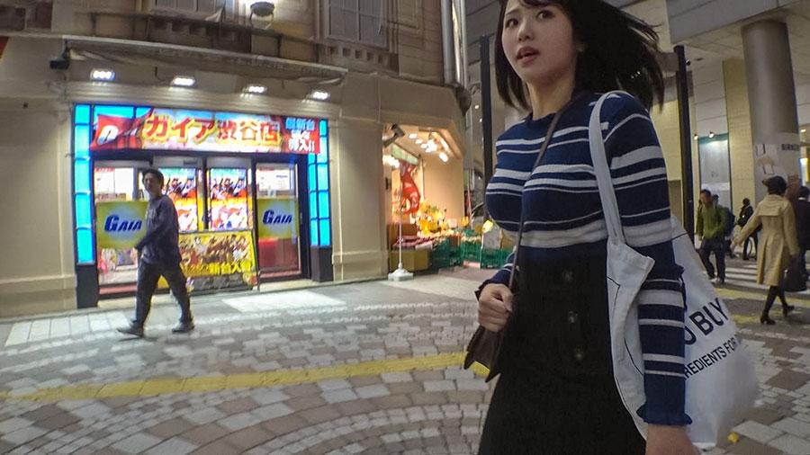 【ナンパTV】渋谷マークシティ付近でナンパした爆乳美少女とのSEX動画