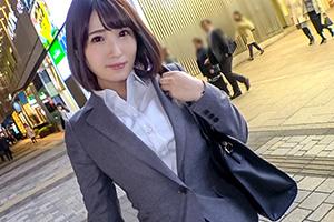 【有楽町ナンパ】巨根にうろたえるFカップ爆乳保険レディー(26)とのSEX動画