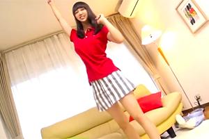 【素人ナンパ】元気いっぱいなテニサー女子大生の性調査で勝手に中出し!