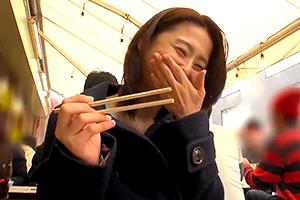 【熟女】前田可奈子 普通の主婦から脱却するために上京してくた巨乳人妻