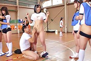 時間を止められる男が女子校の体育授業に侵入した結果…