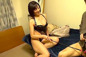 【熟女】谷原希美 強欲痴女がM男のアパートに乗り込む!
