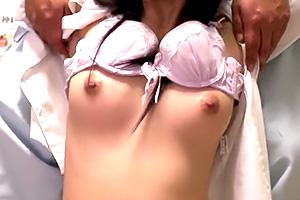 【盗撮】マッサージでやって来た美乳OLが整体師の性処理に利用される…
