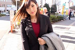 【高円寺ナンパ】不動産の営業中のパイパン爆乳美人OL(20)とのSEX動画
