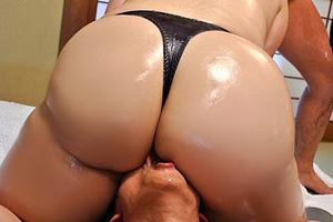 藤木静子 爆尻クンニ責めでムチムチボディを堪能する熟女ソープ動画