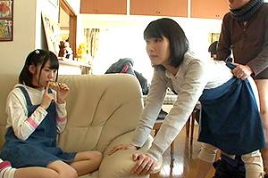 【企画】時間停止ができる男が幸せな家庭に侵入して母娘レイプ!