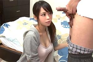 川菜美鈴 包茎コンプレックスの弟をお姉ちゃんが優しくフェラして生SEX!