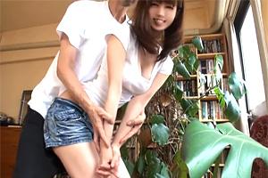 清城ゆき ご近所の巨乳人妻をゴルフレッスンに誘ってハメ撮り!