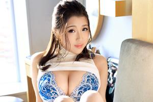 【ラグジュTV】透けブラニット巨乳がエロすぎる美女(25)のSEX動画