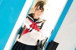 【マジックミラー号】優等生のお嬢様JKをニセ調査でおっぱいマッサージ!