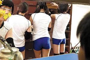 【JK】運動部の性欲ハンパねえな…。バレー部の合宿で女子校生とエッチ!