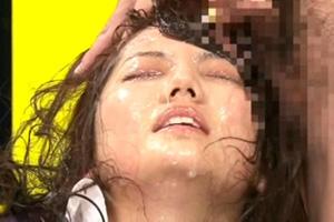 希谷恵理花 放送中の女子アナが手マンされてザーメンを浴びるぶっかけ動画