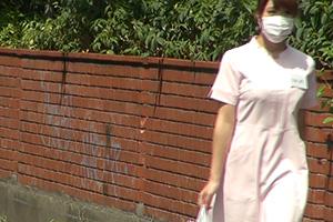 【素人】白衣の下の巨乳が芸術品。Hカップ歯科衛生士がAV出演