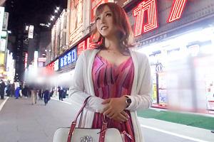 【ナンパTV】新宿キャバ嬢の美尻を鳴らしてパイパンを突きまくるSEX動画