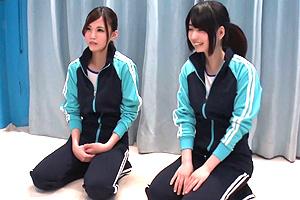 【マジックミラー号】練習漬けの日々を過ごす女子大生アスリートをマッサージ!