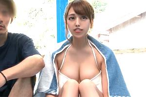 【マジックミラー号】美容部員が性感マッサージで結婚目前の彼氏を裏切る!