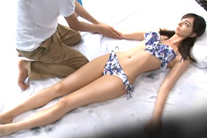 【マジックミラー号】カメラに収まりきらない神スタイルのハーフ彼女を寝取る!
